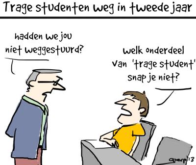 Trage student