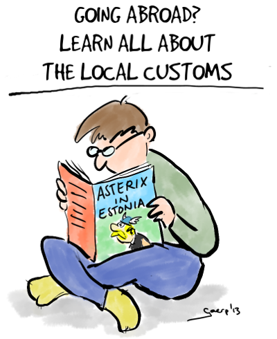 Learn about local customs small