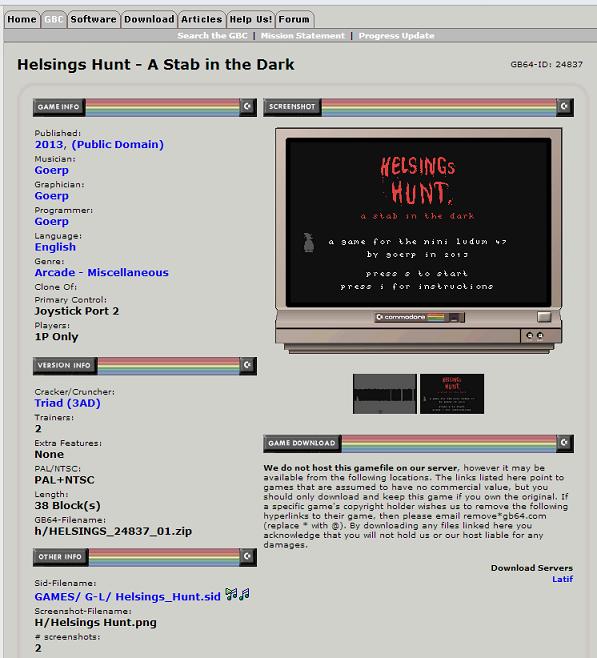 on gamebase 64