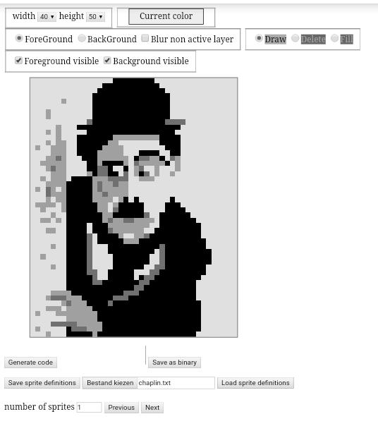 Online c64 drawing tool – Goerp